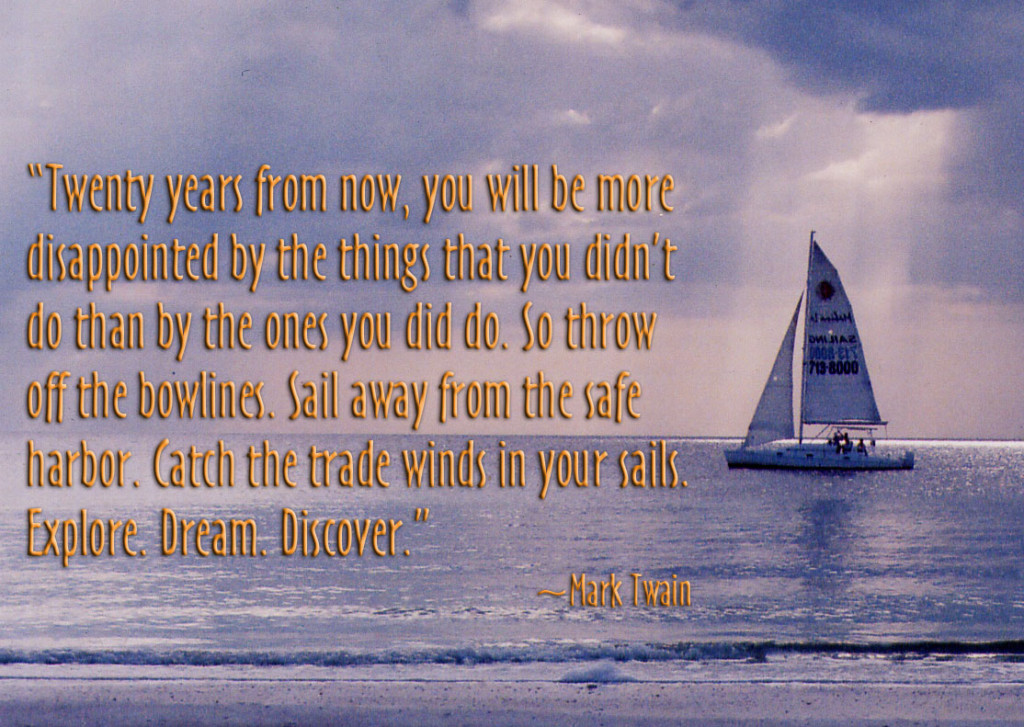 Twain Quote Sailboat 2